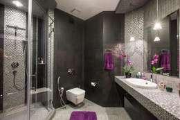 Сompound interior: Ванные комнаты в . Автор – Alena Gorskaya Design Studio
