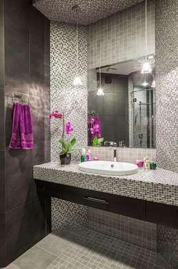 minimalistic Bathroom by Alena Gorskaya Design Studio