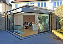 modern Conservatory by Paul Wiggins Architects