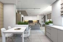 moderne Keuken door BAGUA Pracownia Architektury Wnętrz