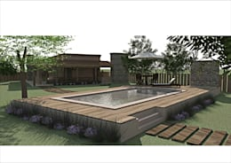 Projekty,  Basen zaprojektowane przez Ronda Estudio