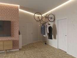 Tatiana Zaitseva Design Studioが手掛けた廊下 & 玄関