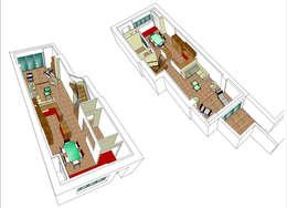 Croquis du projet:  de style  par Atelier FA - Achitecture d'intérieurs & d'extérieurs