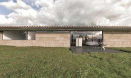 Casas de estilo moderno por infografia 3D - arquitectura interior