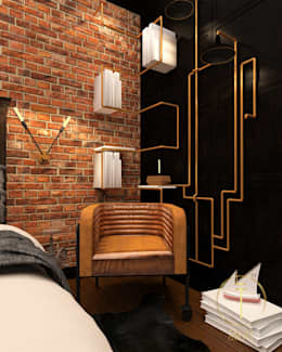Projekty,  Sypialnia zaprojektowane przez Taller 03