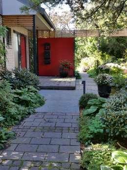 สวน by Irene Alberts Landschaftsarchitektin