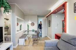 Comedores de estilo moderno por Ambientta Arquitetura
