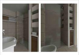 BAÑOS: Baños de estilo moderno por Ronda Estudio