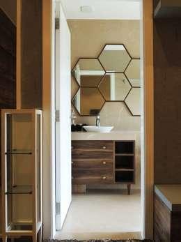 3bhk at Jogeshwari: modern Bedroom by SwitchOver Studio