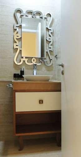 3bhk at Jogeshwari: modern Bathroom by SwitchOver Studio