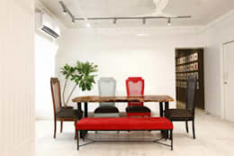 Khar Residence: modern Dining room by SwitchOver Studio