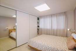 북유럽느낌 물씬 20평 빌라 인테리어: 홍예디자인의  침실