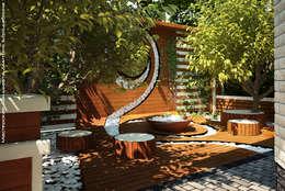 Уголок для созерцания: Сады в . Автор – Мастерская ландшафта Дмитрия Бородавкина