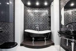 Фото реализованной ванной в квартире по проекту от Батенькофф: Ванные комнаты в . Автор – Дизайн студия 'Дизайнер интерьера № 1'