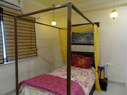 Victorian interiors.: modern Bedroom by Freelance Designer
