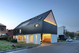 One Roof House: mlnp architects의  주택