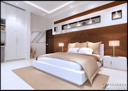 Haris: modern Bedroom by stanzza