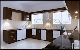 Haris: modern Kitchen by stanzza