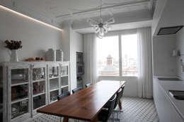 Cocinas de estilo mediterraneo por Singularq Architecture Lab