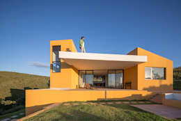 Casas de estilo moderno por Joana França