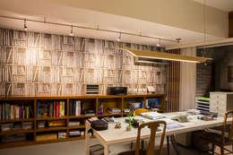 Oficinas de estilo moderno por DLPS Arquitectos