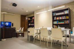 Estudios y oficinas de estilo moderno por DLPS Arquitectos