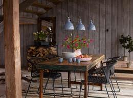 Projet Dordogne: Salle à manger de style de stile Rural par Agence Inside DECO