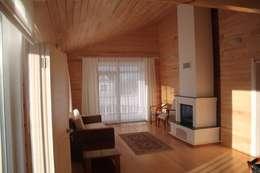country Living room by Kuloğlu Orman Ürünleri