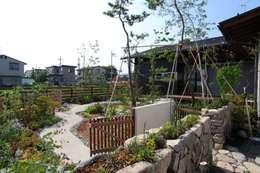 Projekty,  Ogród zaprojektowane przez 平山庭店