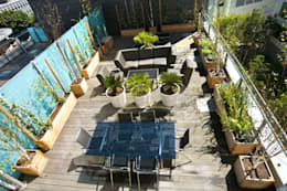 London Roof Terrace: modern Garden by Arthur Road Landscapes