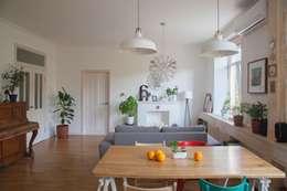 Projekty,  Kuchnia zaprojektowane przez Mebius Group