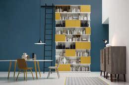 modern Study/office by Livarea