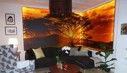 ROOM EXCLUSIVE GmbH: modern tarz Oturma Odası