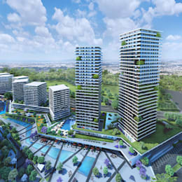 CCT INVESTMENTS – CCT 157 Project in Bahcesehir: modern tarz Evler