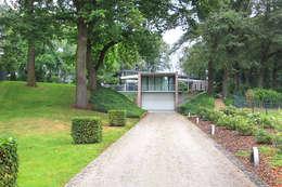Aanpassingen en nieuwe indeling: moderne Huizen door Engelman Architecten BV