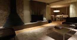 Salas / recibidores de estilo moderno por ruiz narvaiza associats sl