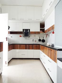 Cooking Space Revamped: minimalistic Kitchen by Drawing Hands Studio