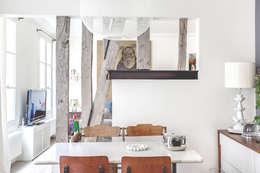 salle a manger: Salle à manger de style de style Moderne par cristina velani