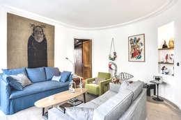 modern Living room by cristina velani