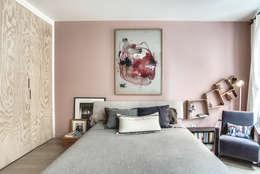 chambre: Chambre de style de style Scandinave par cristina velani