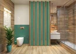 Проект квартиры для молодой пары с ребенком.: Ванные комнаты в . Автор – Katerina Butenko