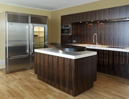 modern Kitchen by Beilstein Innenarchitektur