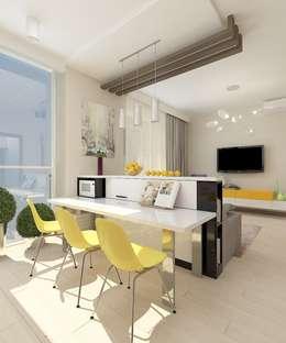 Дизайн студия Марины Геба의  거실