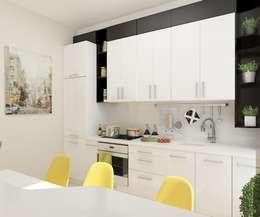 Дизайн студия Марины Геба의  주방