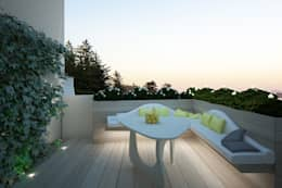 Terrace by Architetto Valentina Longo