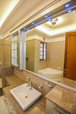 Royal Bathroom: rustic Bathroom by S.S. Design Studio