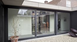 uitbreiding woonhuis:  Ramen door JMW architecten