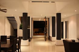 Maisons de style de style Moderne par Camilo Pulido Arquitectos