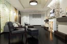 minimalistic Living room by Дизайн студия Алёны Чекалиной