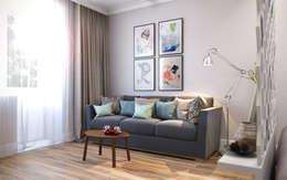 غرفة المعيشة تنفيذ CO:interior
